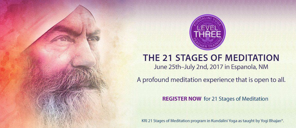 21 Stages of Meditation