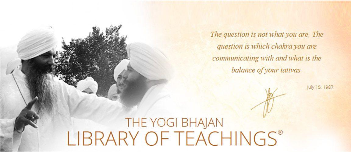 Kundalini Research Institute Kundalini Yoga As Taught By Yogi Bhajan