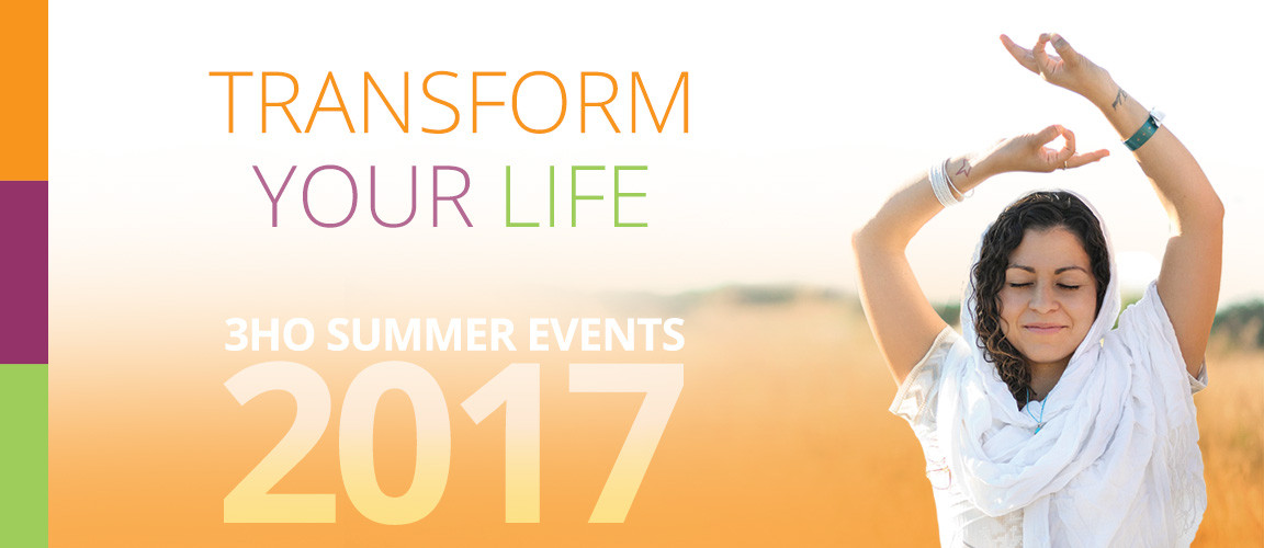 3HO SUMMER EVENTS 2017
