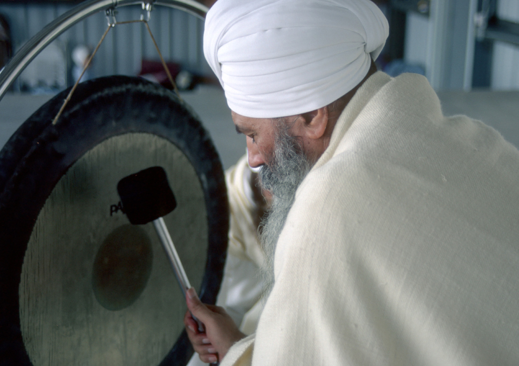 Yogi Bhajan and The Gong