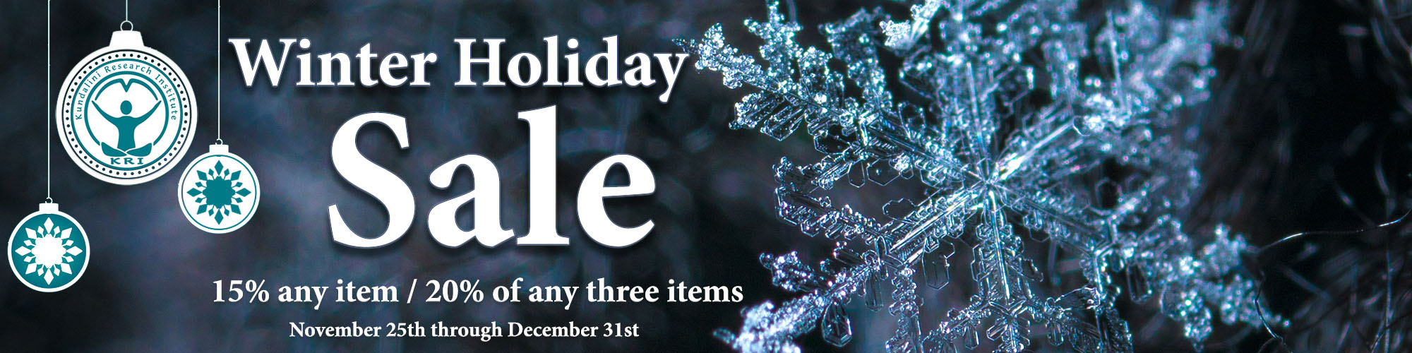 Winter Holiday Webstore Sale