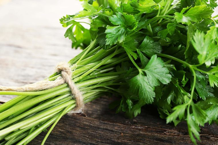Parsley Pilau