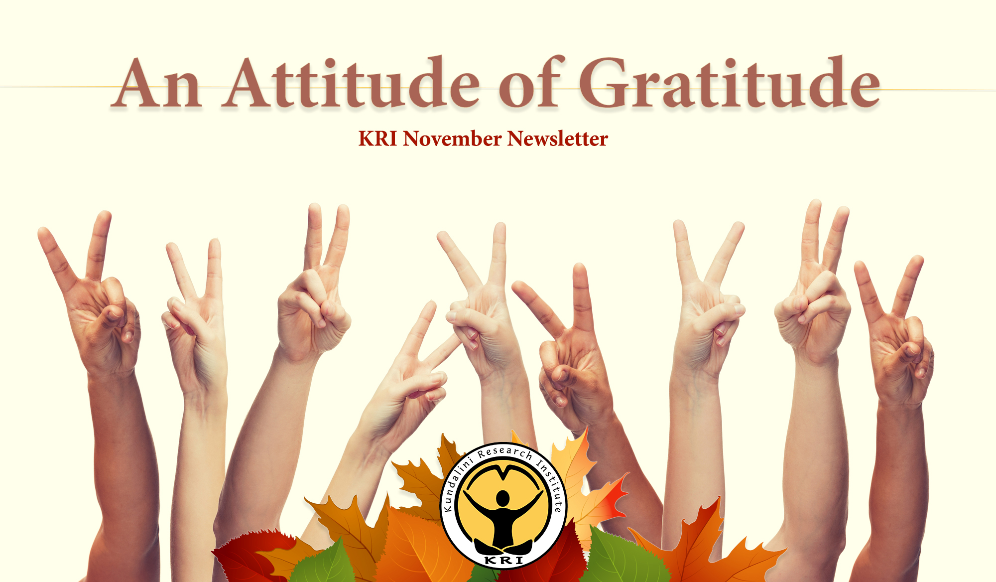 KRI November Newsletter