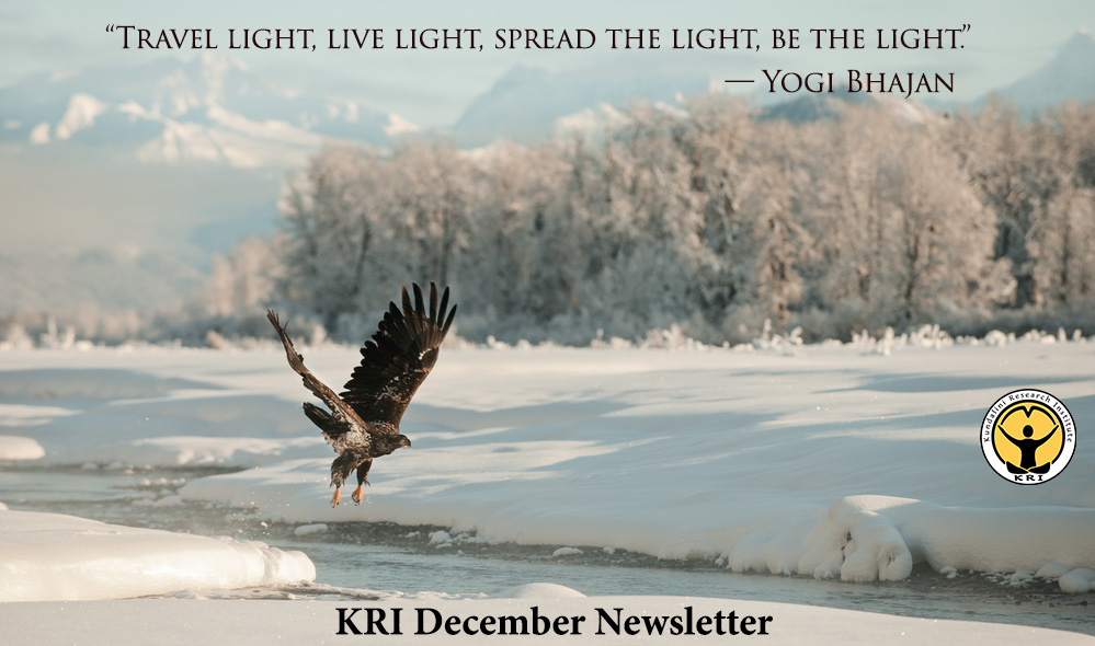 KRI December Newsletter
