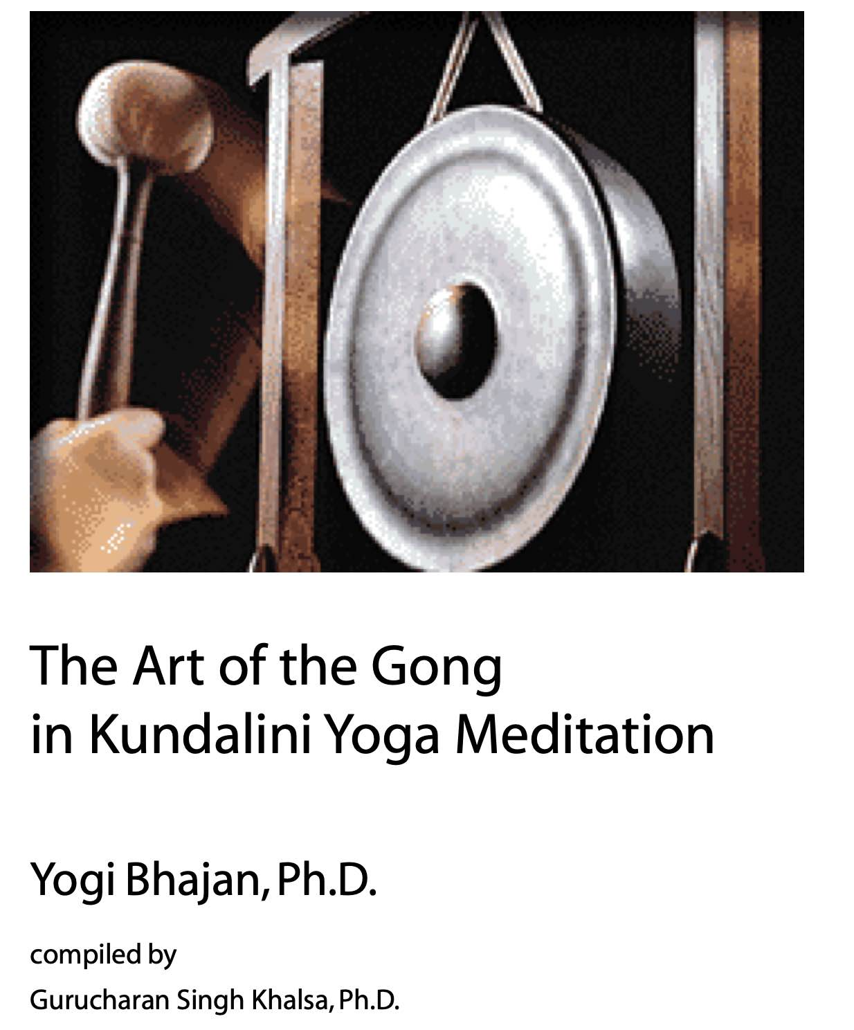 The Art of the Gong